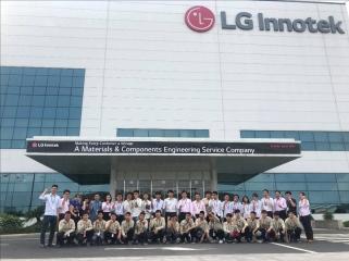 Thăm quan thực tế và hợp tác đào tạo, cung ứng nguồn nhân lực tại Công ty TNHH LG Innotek Việt Nam Hải Phòng.