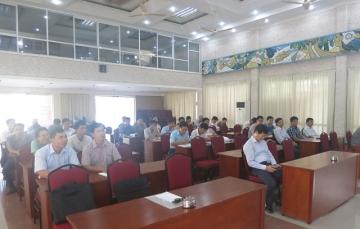Khai giảng lớp huấn luyện an toàn lao động, vệ sinh lao động